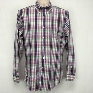 Brooks Brothers 346 Mens Slim Fit Non Iron Shirt